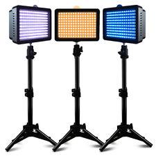 NEW 3 Set Studio Lighting Kit ( Dimmable Led Video Light + 80cm Light Stand)