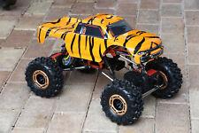 Custom Body Tiger Style for Redcat Racing Rockslide / Everest 1/10