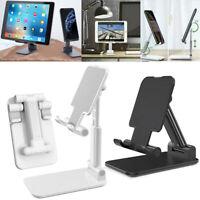 Universal Foldable Tablet Cell Phone Stand Adjustable Desktop Holder Cradle Dock