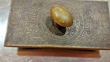 "Antique Brass ? 6"" Rocking Ink Blotter VINTAGE"