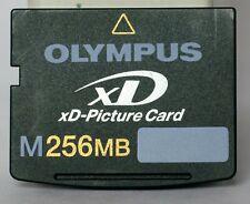 Olympus 256mb type M XD card.