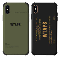 Wtaps SS19 Phone Case Cover For Apple iPhone 11 Pro Max XS Max XR XS X 8 7 Plus