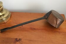 Antique Vintage Country Collectible Copper Ladle with Long Handle