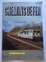 Chemins de fer n°416 septembre 1992 revue de l'Afac Le tramway à Saint-Etienne