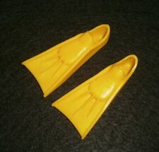 Vintage 1970's ~ Shore Lines #1435 Ken Doll'S Yellow Swim Fins ~ Marked Japan
