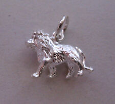 Sterling silver Leo the lion Starsign Zodiac Charm