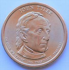 2009 D John Tyler Presidential Dollar Satin Finish US Coin
