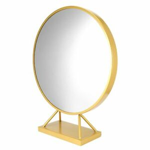 Round Makeup Mirror With Base Modern Vanity Mirrors Dressing Table GDM