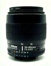 Nikon Nikkor AF 35-80mm 1:4-5.6D Lens