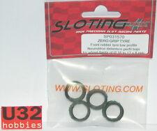 SLOTING PLUS SP031570 NEUMATICO 17x8mm GRIP ZERO 4 UNIDADES