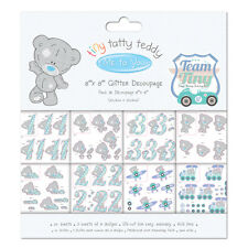 ME TO YOU TINY TATTY TEDDY DECOUPAGE BOY FOR CARDS AND CRAFTS