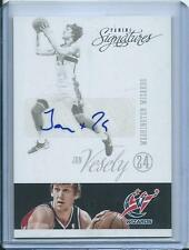 2012-13 Panini Signatures Jan Vesely Autograph Washington Wizards
