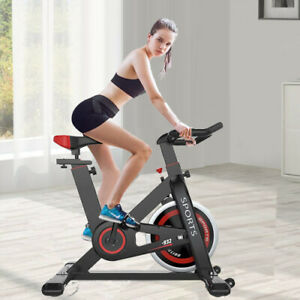 Heavy Duty Indoor Home Exercise Bike Cycling Bicycle Cardio Fitness Workout Red