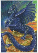 - Wiccan pagane biglietti d'auguri Indigo Dragon Compleanno NATURA DEA Wendy Andrew