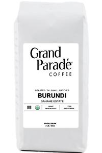 2 lbs Organic Burundi Medium Roast, Gourmet Coffee Beans, Fresh Roasted Daily