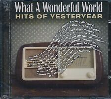 What A Wonderful World Hits Of Yesteryear 2-disc CD NEW Neil Sedaka