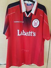 Nottingham forest football shirt 96-98 xxl