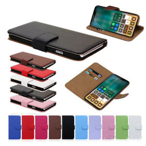 PU Leather Flip Wallet Cover Case for Apple iPhone 8 Plus iPhone 7 Plus