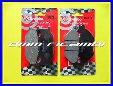 Kit Pastiglie Freno BREMBO YAMAHA T-MAX 500 01 anteriori posteriori TMAX 2001