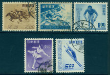 Japan 1948/49  SPORTS - 5 commemorative issues - USED  [2]