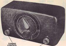 1952 ZENITH K510 RADIO SERVICE MANUAL SCHEMATIC REPAIR