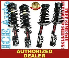 FCS Complete Loaded FRONT & REAR Struts for 2008-2010 HIGHLANDER AWD w/ 3rd ROW