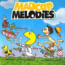 Madcap Melodies K-Tel Novelty CD Pac Man Boll Weevil Streak Ding A Ling 1996