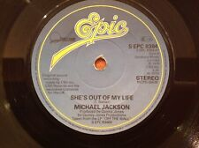 MICHAEL JACKSON - 1979 Vinyl 45rpm Single - SHE'S OUT OF MY LIFE