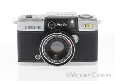 Olympus Pen D3 Half Flame 35mm Film Camera Zuiko 32mm F1.7 Lens