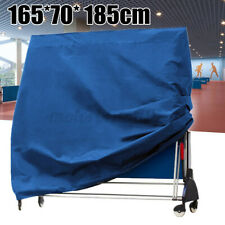 Ping Pong Table Cover Tennis Table Waterproof Protect Indoor Outdoor Sheet Blue