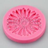 Beautiful Flower Petal Silicone Mould Cupcake Topper Mold Decoration Mold