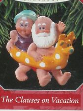The Clauses On Vacation Hallmark Keepsake Ornament #2 In Series 1998