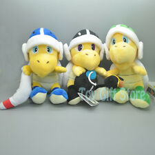 "3pcs Koopa Troopa Bomb Boomerang Hammer 8"" Plush Doll Stuffed Toy"