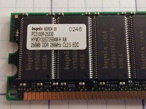 512MB IBM Server ram: 2 x 256MB DDR 266MHz CL2.5 ECC