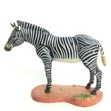 Red Data Animals Mini figure #3 Grevy's zebra Kaiyodo Furuta Japan