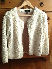 H&M Casual Faux Fur Coats & Jackets for Women