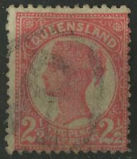 Queensland   1895-96   Scott # 110   USED
