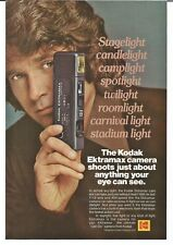 Vintage 1979 - 80 KODAK Camera - MICHAEL LANDON  ADS Set of 4