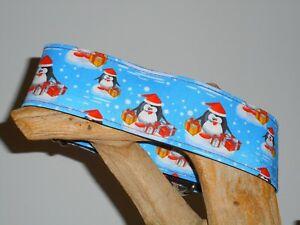 Polar Penquins 2 Inch Custom Made Martingale Dog Collar