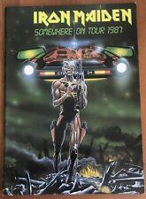 Iron Maiden - Somewhere on Tour 1987 Japan Tour Book
