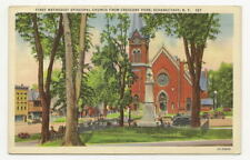 SCHENECTADY NY 1st Methodist ME Church Crescent Park