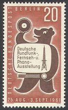Germania (B) 1961 RADIO/TELEVISIONE/Bear/ESPOSIZIONE antenna Radio// Tv 1 V (n41187)