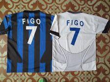 Lot 2 Maillot INTER MILAN vintage maglia FIGO jersey shirt XL