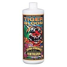 Fox Farm Tiger Bloom 1 Quart qt 32oz - liquid foxfarm hydro or soil nutrients