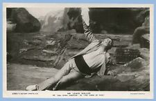 ACTOR LEWIS WALLER as COL. CYRIL EGERTON - RPPC - REAL PHOTO POSTCARD - UNUSED
