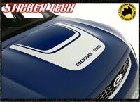 U SHAPE BOSS 315 290 FORD FALCON FG XR8 GT GTP BONNET VINYL STICKER DECAL