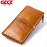 Women Long Genuine Leather Cowhide Wallet Bifold Credit Card Holder Clutch Purse