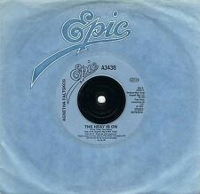 "AGNETHA FALTSKOG The Heat Is On 7"" Single Vinyl Record 45rpm Epic 1983 EX"