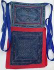 Vintage tribal Vietnam ethnic minority handmade batik baby carrier
