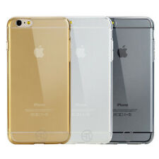 THIN ULTRA CLEAR SLIM SOFT TPU RUBBER CASE COVER FITS FOR IPHONE 6 -  4.7